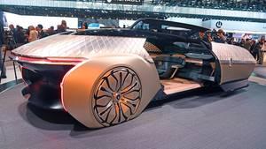 Hingucker: Die Renault Studie EZ-Ultimo.