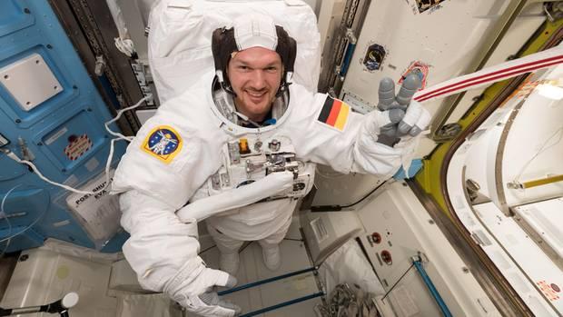 Alexander Gerst erst deutscher Kommandant der ISS