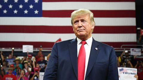 Der Name Donald Trump schreckt manche Kunden ab und lässt den Wert der Marke sinken