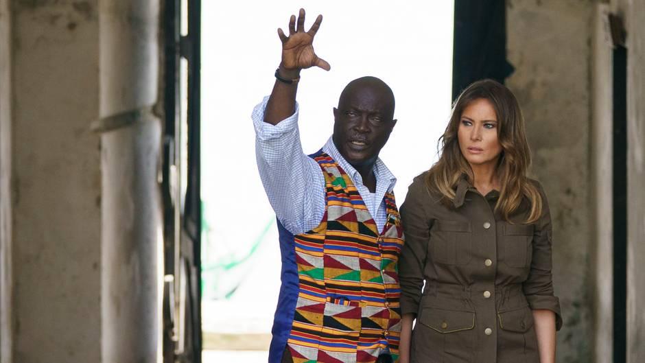 First Lady: Solo-Trip: Melanias erste offizielle Auslandsreise ohne Donald Trump