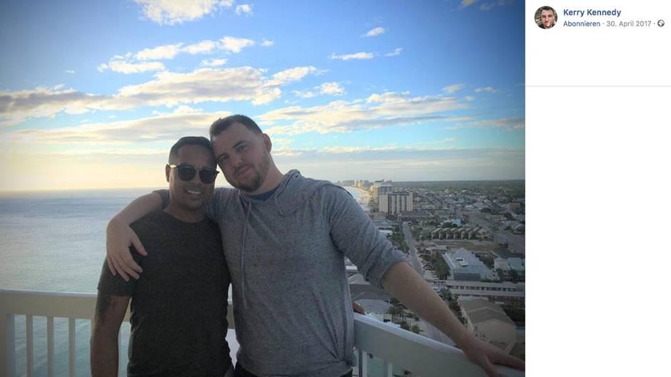 Hayward (links) und Kerry (rechts) sind seit drei Jahren ein Paar