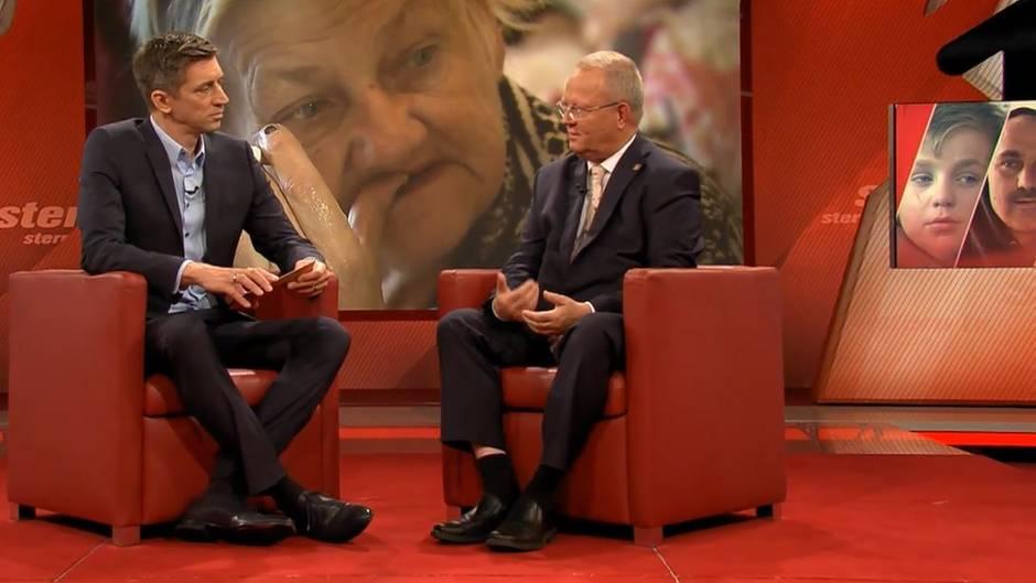 """stern TV-Studiogespräch über Familie Ritter aus Köthen: Köthens Stadtrat Georg Heeg mit Steffen Hallaschka: """"Wo sind"""