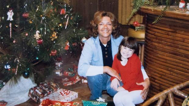 Ihre Nichte Michelle bewunderte die lebenslustige Tante