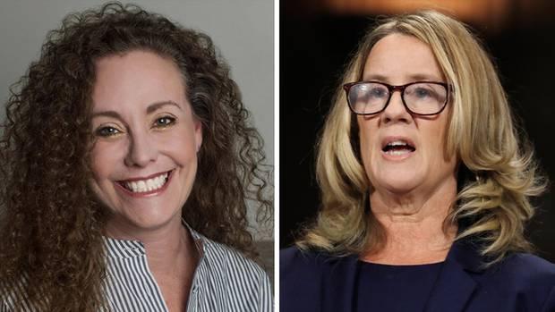 Julie Swetnick (l.) und Christine Blasey Ford sind zwei der drei Frauen, die Brett Kavanaugh beschuldigen