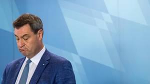 Markus Söder - CSU auf 33 Prozent 10 Tage vor der Wahl