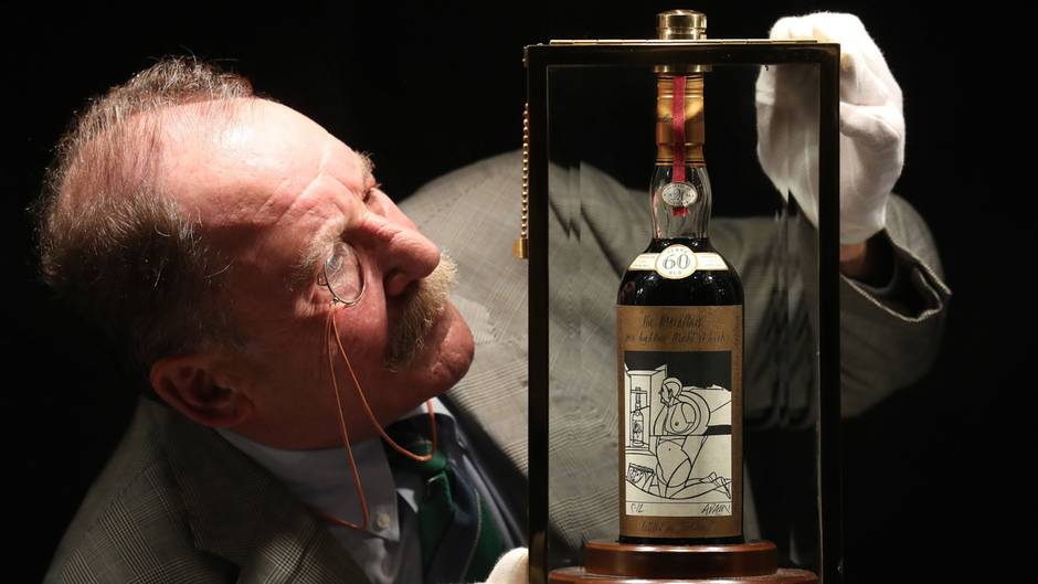 Macallan: Dieser Whisky kostet 1,1 Millionen Dollar - gar nicht mal so günstig