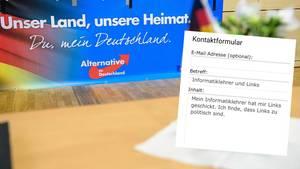 """""""Links sind zu politisch"""": Solche satirischen Einträge landen massenhaft im Melde-Portal der Hamburger AfD-Fraktion"""