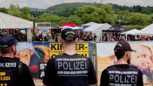 """Neonazifestival """"Tage der nationalen Bewegung"""" im Juli 2018 im thüringischen Themar"""