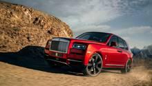 Rolls Royce Cullinan 2019 - der neue Konkurrent von Range Rover und Bentley Bentayga