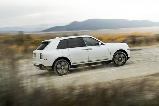 Rolls Royce Cullinan 2019 - 5,34 Meter lang