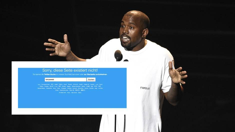 Kanye West löscht (endlich) seine Konten bei Instagram und Twitter