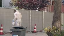 Die Polizei sperrte die Umgebung in Bad Oldesloe mit einem Bauzaun ab