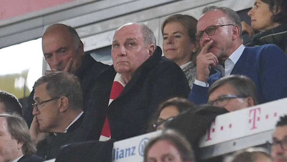 Uli Hoeneß beim FC Bayern München