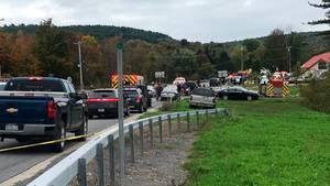 Limousinen-Unfall im US-Bundesstaat New York