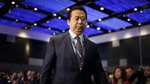 Meng Hongwei beim Interpol-Weltkongress 2017