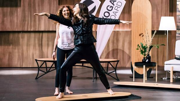 Yogaboard in DHDL