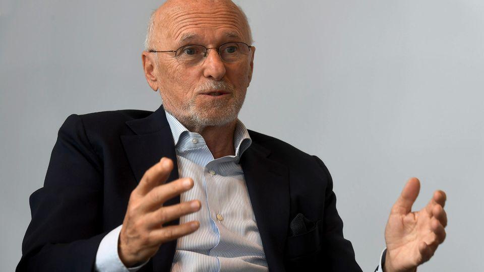 Rossmann-Chef Dirk Rossmann
