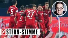 Die Spieler des FC Bayern werden sehr bald wieder Grund zum Feiern haben, meint stern-Stimme Philipp Köster