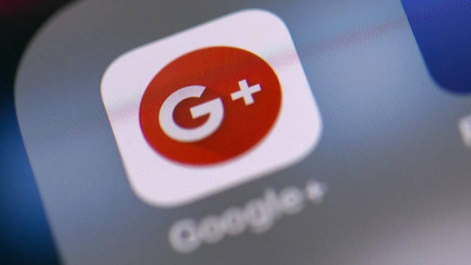 Logo von Google Plus auf einem Smartphone