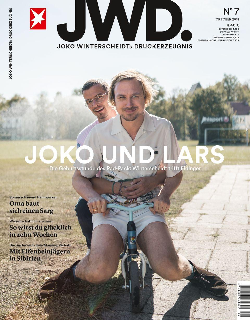 Magazintitel JWD Heft 7