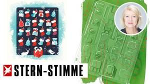 Adventskalender: Verpackungskunst für die Mülltonne