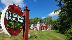 Hier weihnachtet es nicht nur im Dezember: Das Christmas Farm Inn bietet seinen Gästen jeden Tag Weihnachtsatmosphäre.
