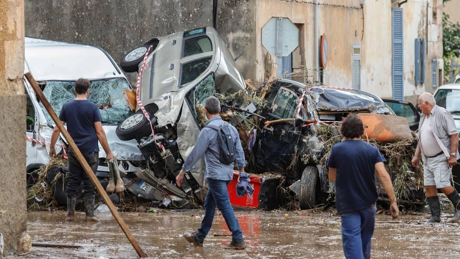 Tote und Chaos bei Unwetter auf Mallorca - Augenzeugen berichten