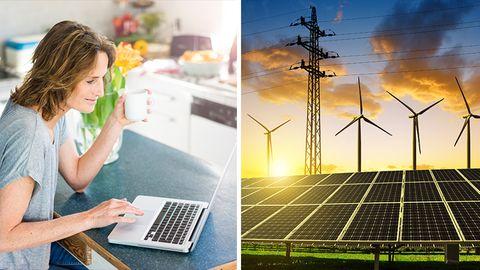 2017 gab Google bekannt, seine Datenzentren fast zu 100 Prozent aus Solar- oder Windkraft zu versorgen