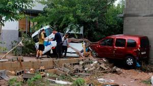 Überschwemmung Mallorca