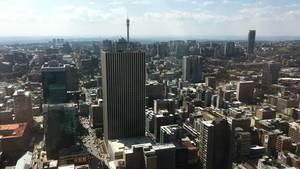 Die Skyline von Johannesburg (Archivbild)