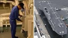 Kaga Kriegsschiff Japan