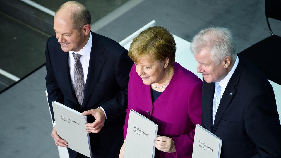 Union und SPD weiter auf Umfrage-Talfahrt - während eine Partei ordentlich punktet