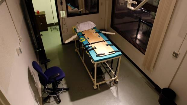 Todesstrafe: Blick in die Hinrichtungskammer im Gefängnis Washington State Penitentiary