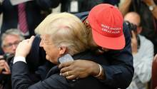 Besuch im Weißen Haus: Kanye Wests wirrer Auftritt bei Donald Trump
