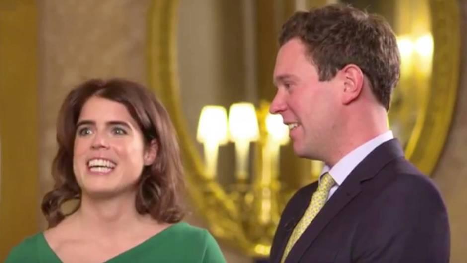 """Romantisches Liebesgeständnis: Prinzessin Eugenie über Jack Brooksbank vor der Hochzeit: """"Es war Liebe auf den ersten Blick"""""""