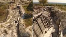 La Main de Massiges – ein Ort zur Erinnerung des Esten Weltkriegs
