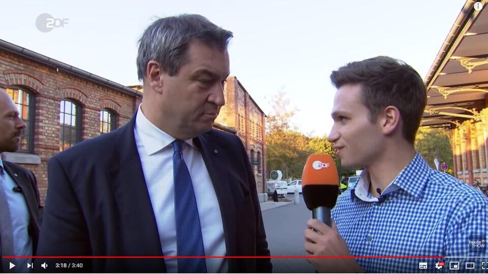 heute-show Markus Söder