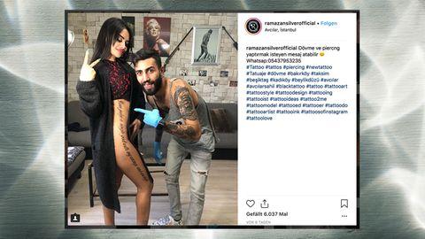 Naz Mila auf Instagram