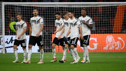 Müder Abgang: Deutschland nach der Pleite gegen die Niederlande