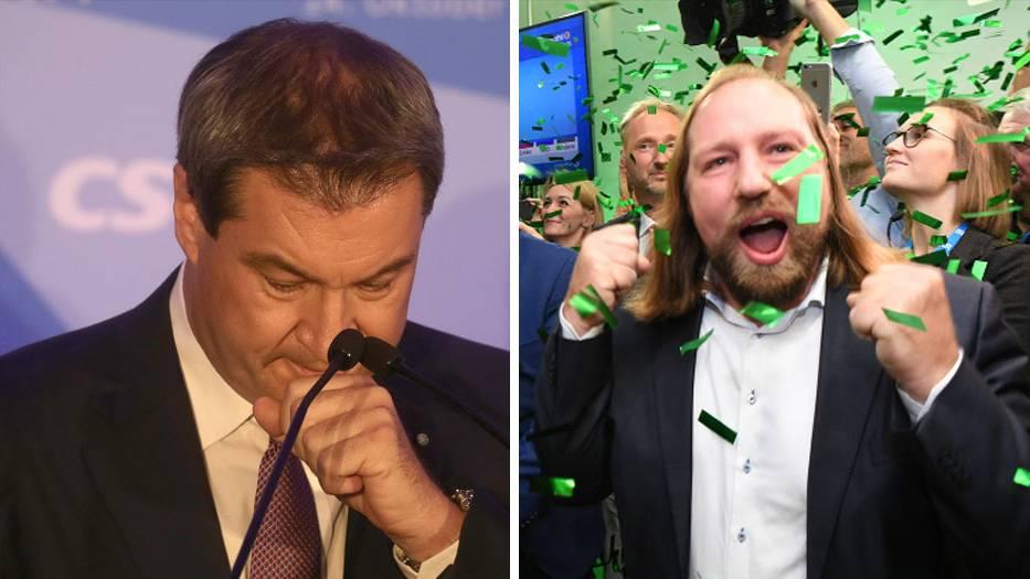 Bayernwahl: Erste Wahlprognose lassen Volksparteien alt aussehen – Grünen werden zweitstärkste Kraft