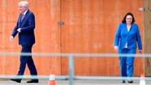 Zwei Stimmungskiller für die Bayern-Wahl aus Berlin: Horst Seehofer und Andrea Nahles