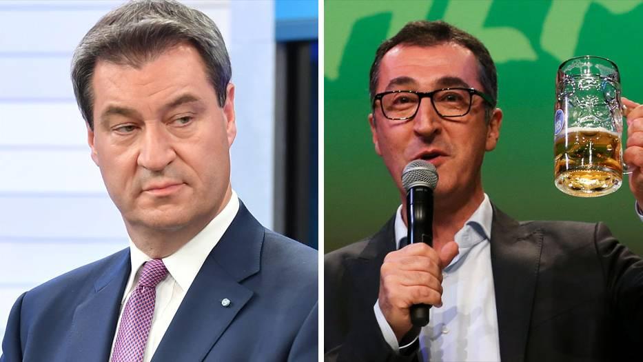 Bayernwahl: Sind die Grünen außen vor? Söder favorisiert Koalition mit den Freien Wählern