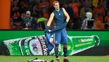 Manuel Neuer ist nach der Niederlage gegen Holland bedient