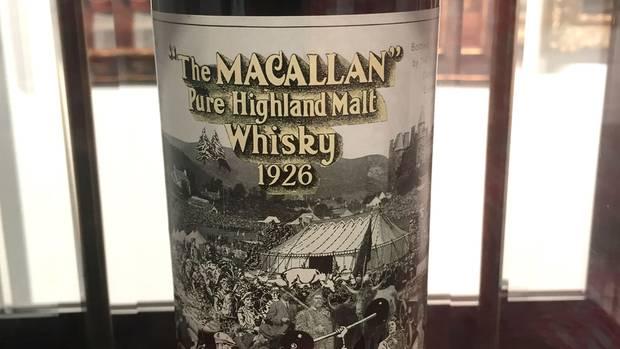 Auch dieser seltene Whisky kam bei Sotheby's unter den Hammer.