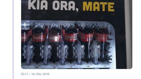 Flughafen Auckland: Übersetzungspanne: Coca-Cola-Werbespruch geht aber mal so richtig nach hinten los