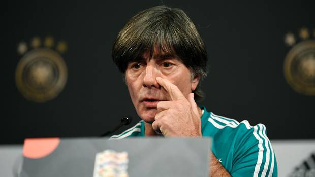 Joachim Löw denkt gar nicht daran, als Bundestrainer zurückzutreten