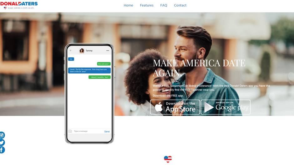 Donald Trump Dating App Fur Seine Anhanger Startet Mit Datenleck