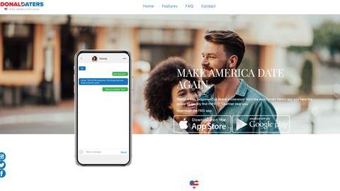 Dating-App für Anhänger von Donald Trump startet offenbar mit massivem Datenleck