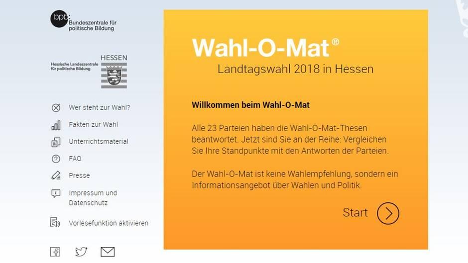 Wahl-O-Mat und Alternativen für die Landtagswahl in Hessen