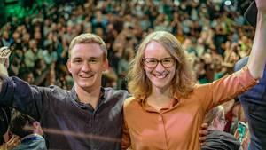 Eva Lettenbauer war Spitzenkandidatin der Grünen Jugend Schwaben für den Landtagswahlkampf in Bayern